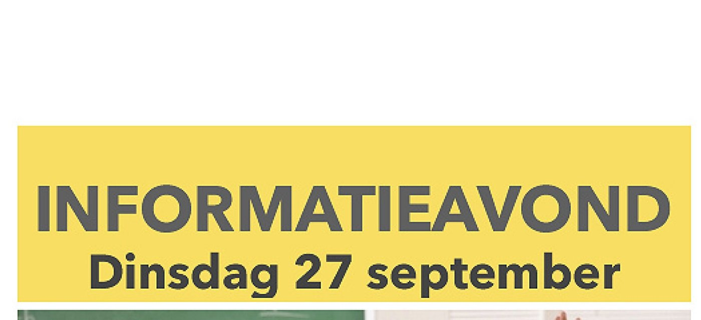 Informatieavond 27 september 2016